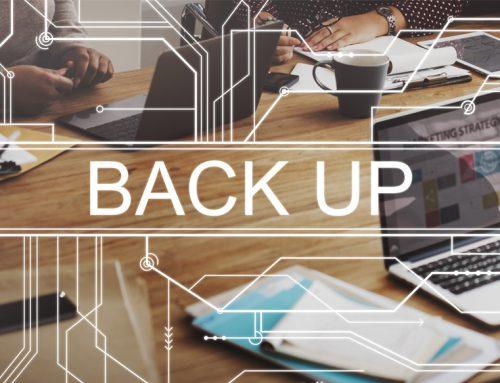 Het belang van een goede back-up